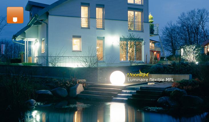 Lampes et luminaires au sol d 39 ext rieur sur for Luminaire exterieur sol